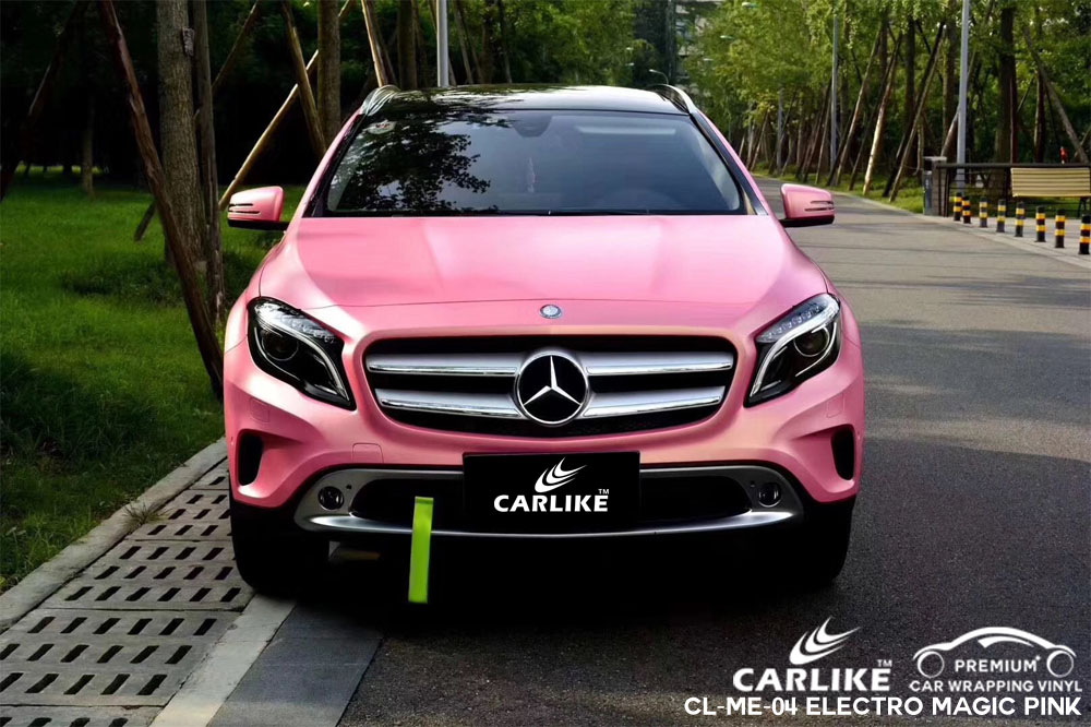 Carlike Cl Me 04 Matte Electro Magic Pink Vinyl For