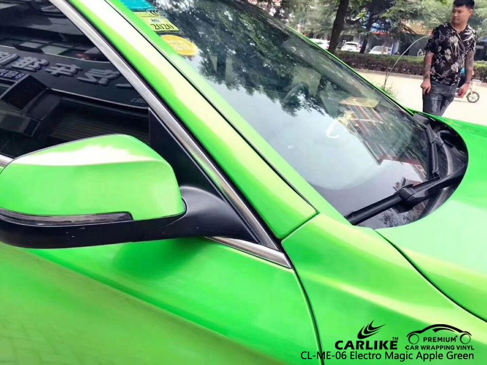 CARLIKE CL-ME-06 MATTE ELECTRO MAGIC APPLE GREEN VINYL