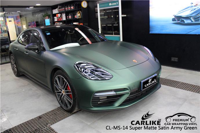 CARLIKE CL-MS-14 SUPER MATTE SATIN ARMY GREEN