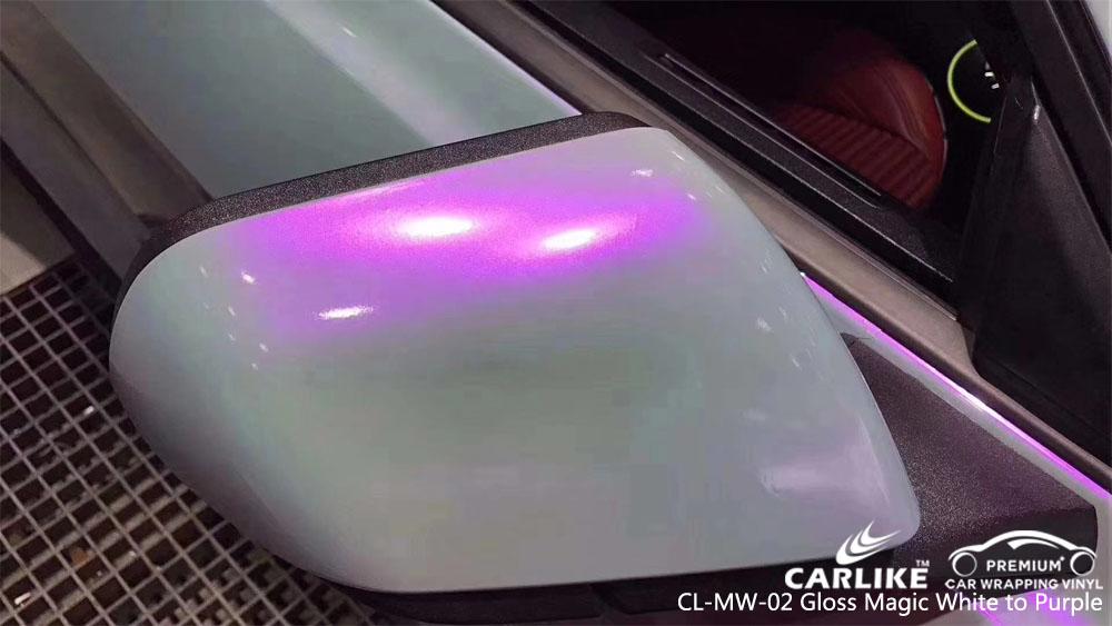CARLIKE CL-MW-02 MAGIC CHAMELEON GLOSS WHITE TO PURPLE VINYL