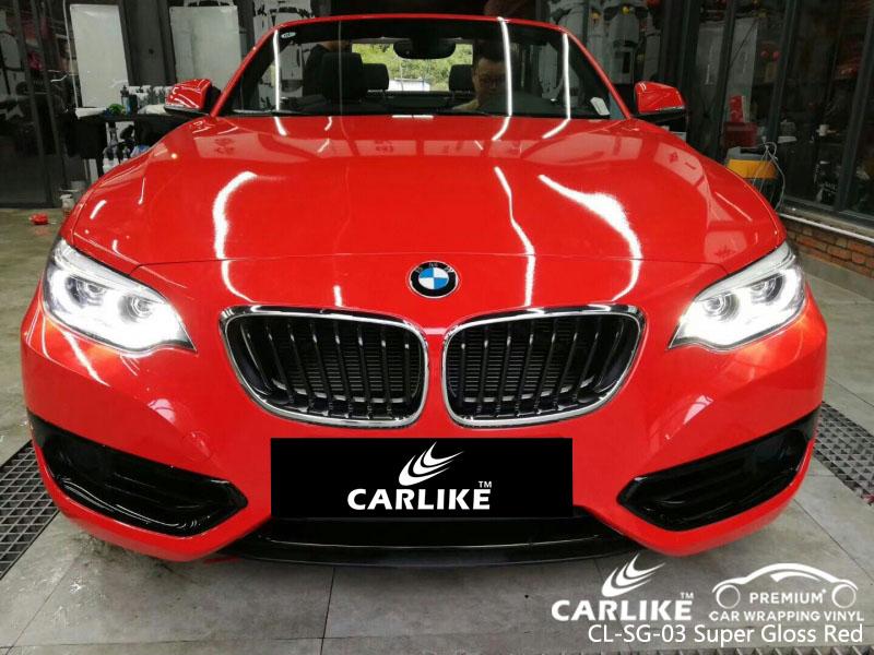 CARLIKE CL-SG-03 SUPER GLOSS RED VINYL