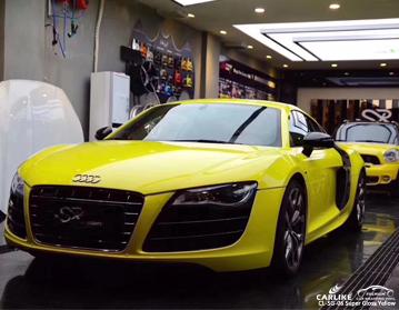 CARLIKE CL-SG-06 vinilo super brillante amarillo para Audi