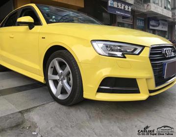 CARLIKE CL-SG-06 Coche amarillo super brillante para Audi