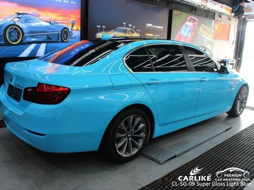 CARLIKE CL-SG-09 SUPER GLOSS LIGHT BLUE VINYL FOR BMW