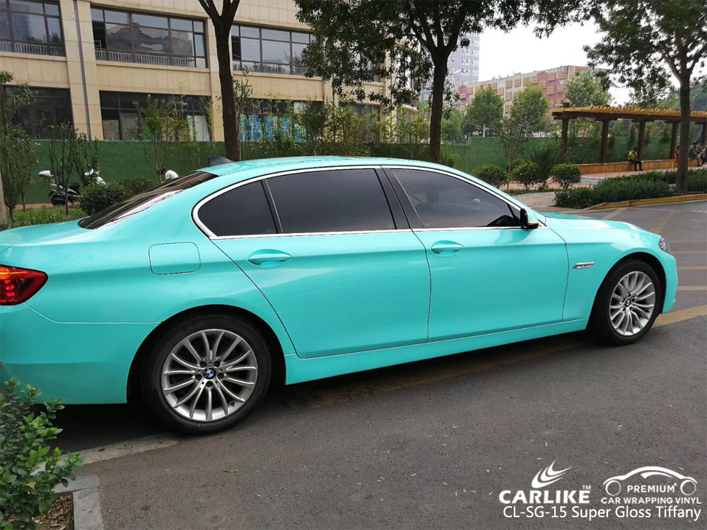 CARLIKE CL-SG-15 SUPER GLOSS TIFFANY CAR WRAPPING VINYL