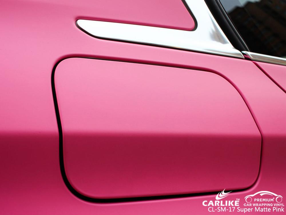 CARLIKE CL-SM-17 SUPER MATTE PINK CAR WRAP VINYL