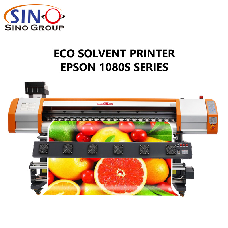 KINGJET XP600 1080S Print Head Eco Solvent Printer