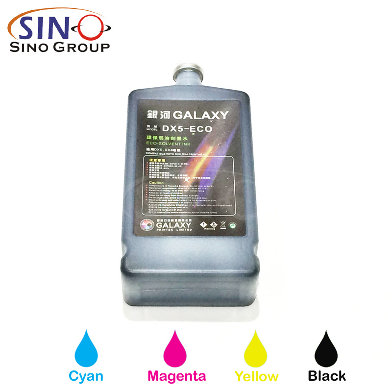 Galaxy Eco Solvent Ink For Epson Dx5 Print Head Sino Vinyl