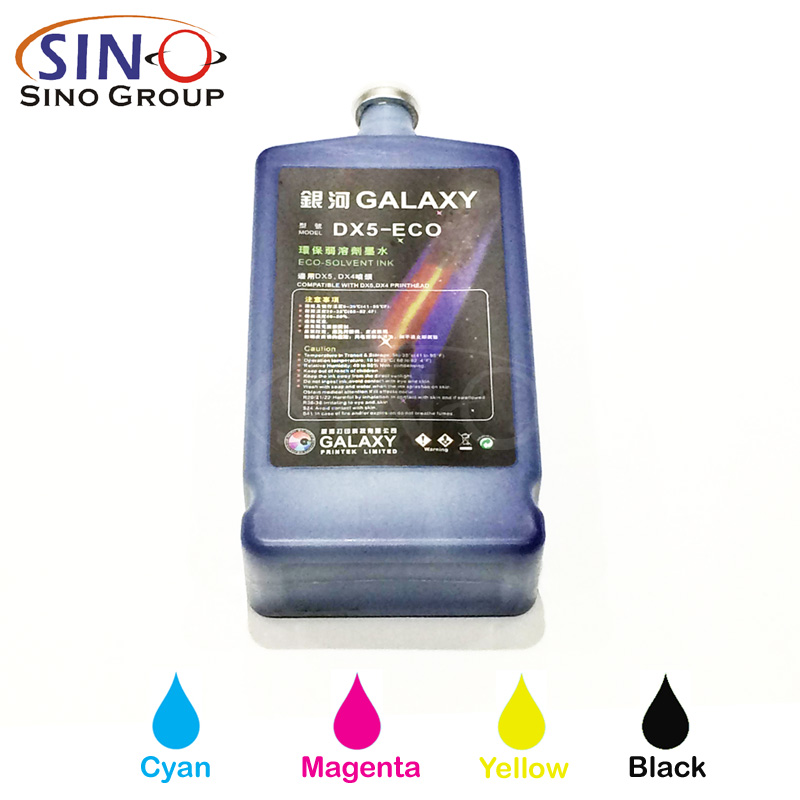Galaxy Eco Solvent Ink For Epson DX5 Print Head