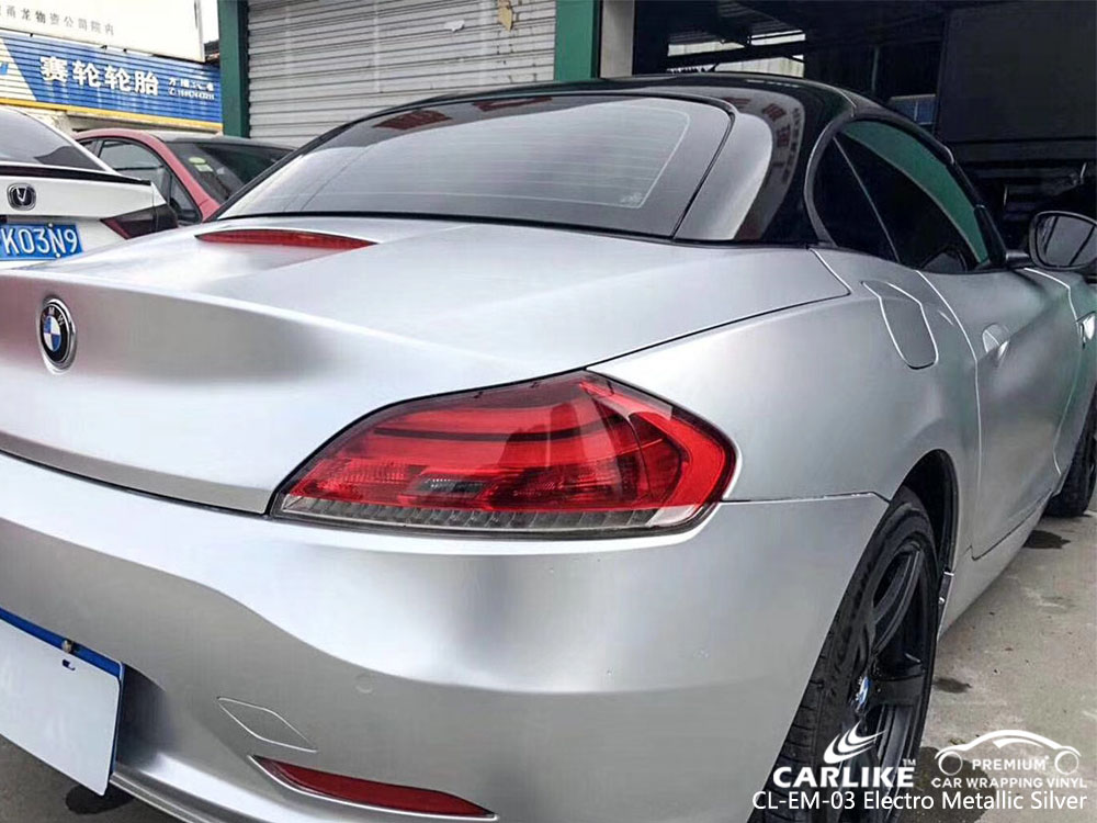 CARLIKE CL-EM-03 ELECTRO METALLIC SILVER VINYL FOR BMW