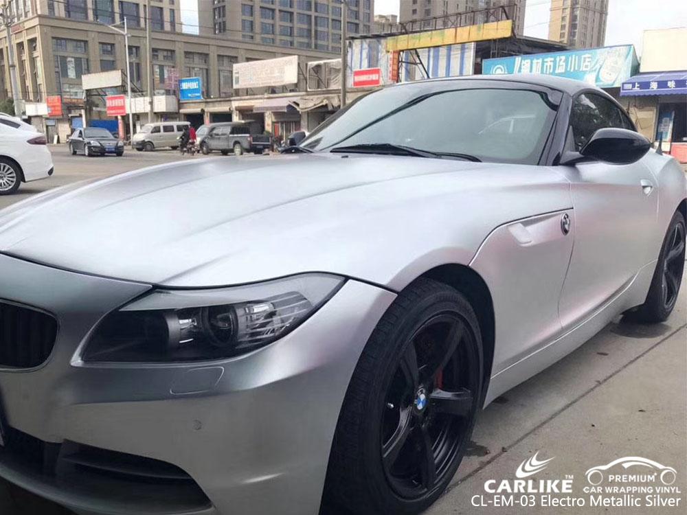 CARLIKE CL-EM-03 ELECTRO METALLIC SILVER VINYL FOR BMW