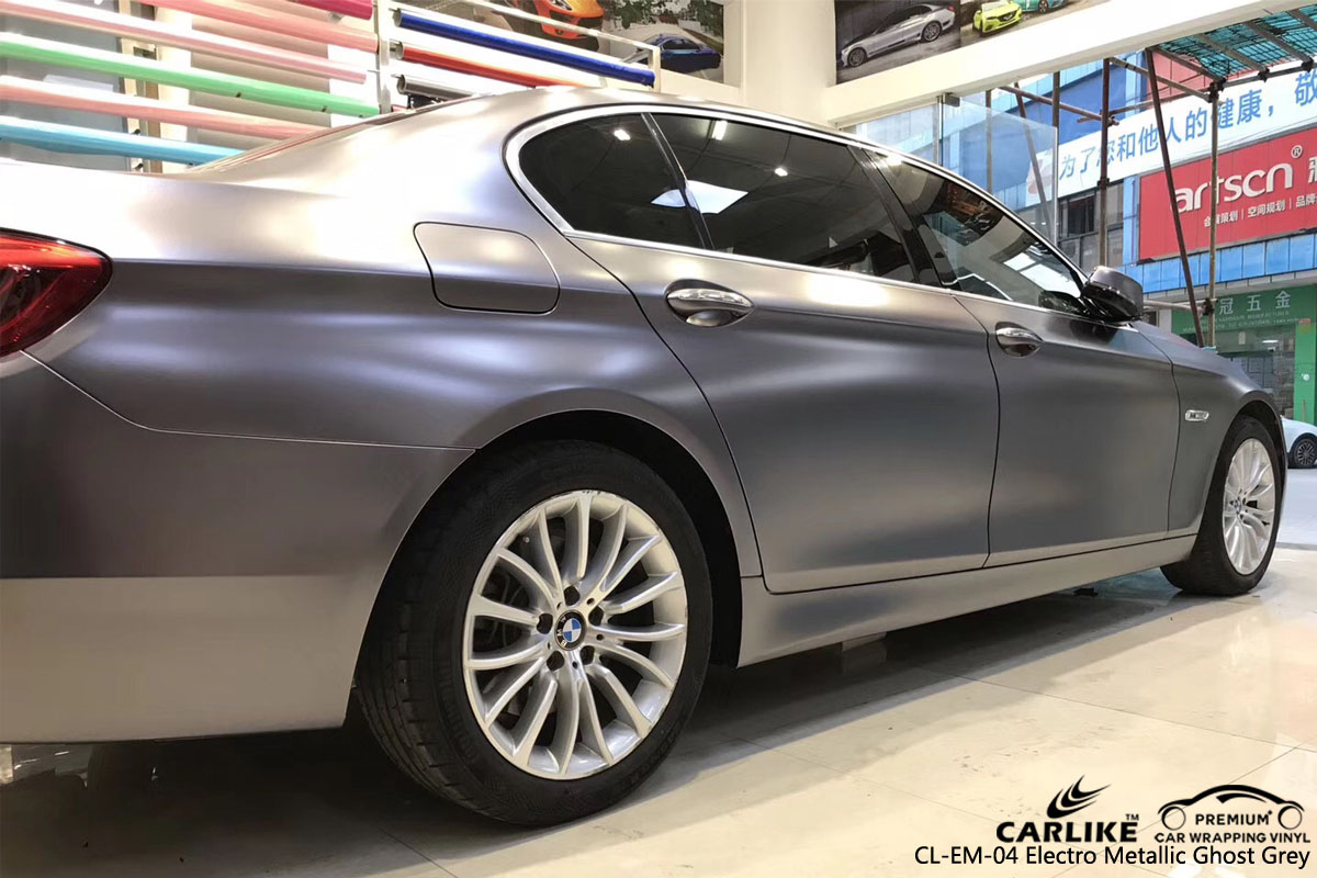 CARLIKE CL-EM-04 ELECTRO METALLIC GHOST GRAY VINYL FOR BMW