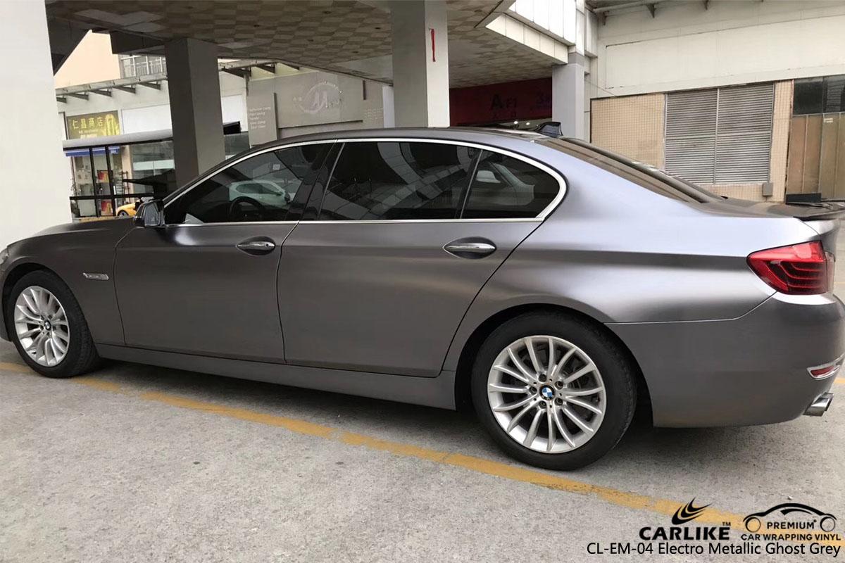 CARLIKE CL-EM-04 ELECTRO METALLIC GHOST GRAY VINYL FOR BMW
