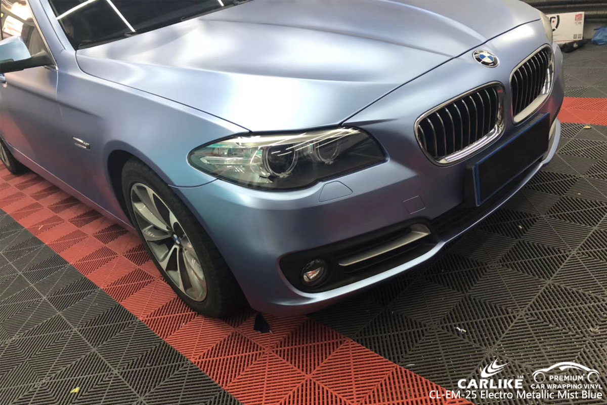 CARLIKE CL-EM-25 ELECTRO METALLIC MINT BLUE VINYL FOR BMW