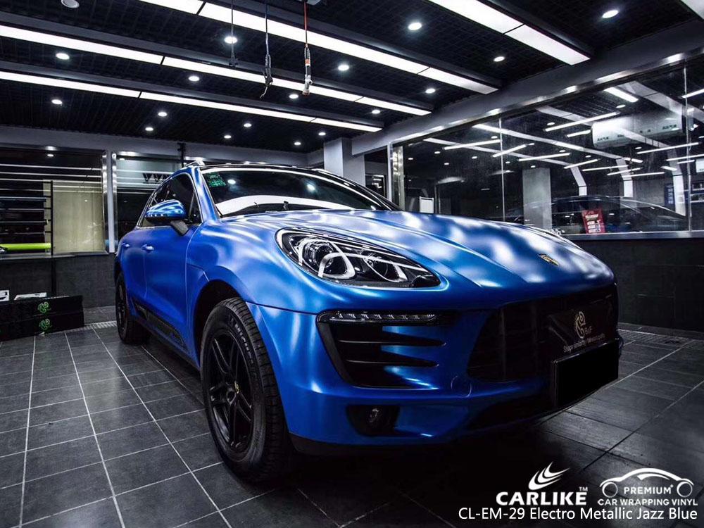 CARLIKE CL-EM-29 ELECTRO METALLIC JAZZ BLUE CAR WRAP VINYL