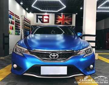 CARLIKE CL-EM-29 ELECTRO METALLIC JAZZ BLUE VINYL FOR TOYOTA