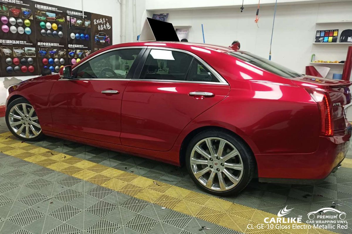 CARLIKE CL-GE-10 GLOSS ELECTRO METALLIC VINYL FOR CADILLAC