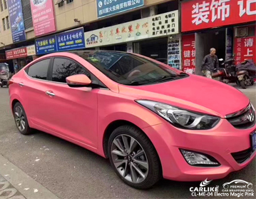 CARLIKE CL-ME-04 ELECTRO MAGIC PINK VINYL FOR HYUNDAI