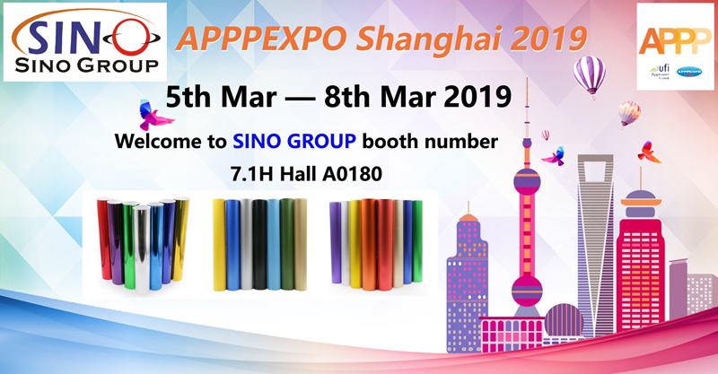 Sino Group 2019 Shanghai APPPEXO Sign Exhibition