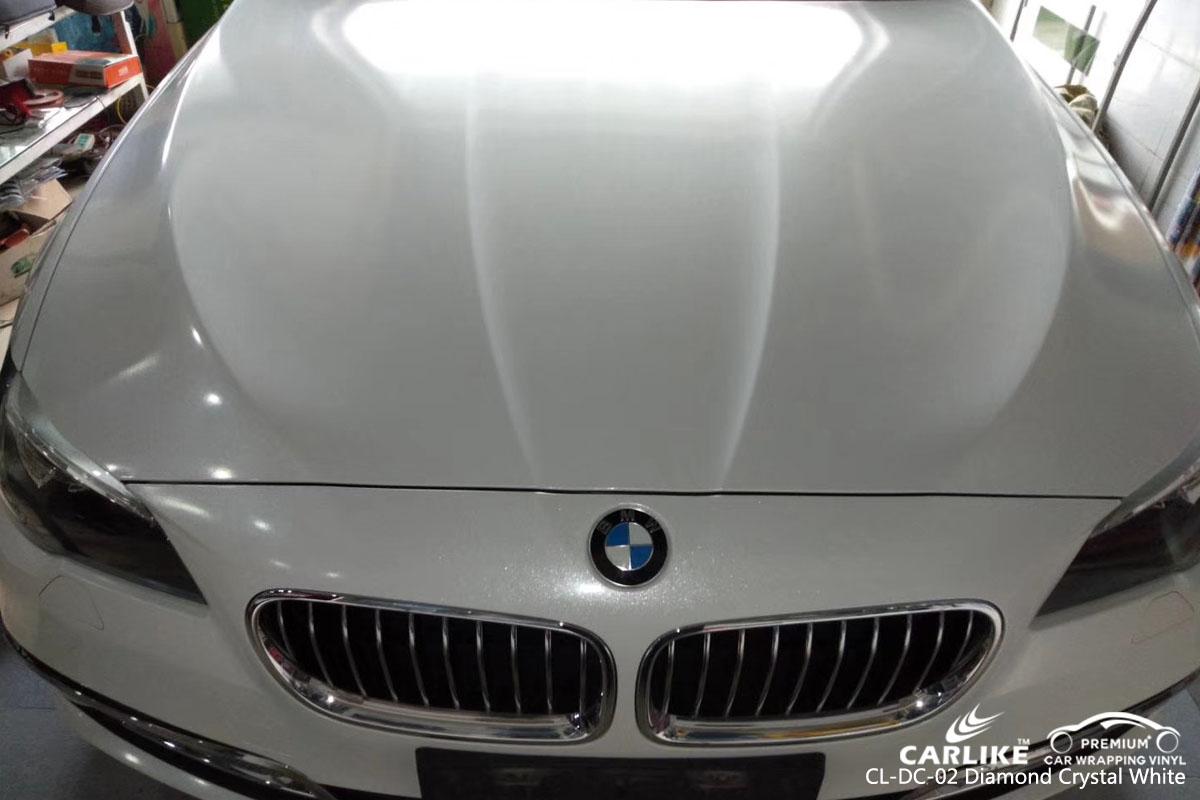 CARLIKE CL-DC-02 diamond crystal white vinyl for BMW