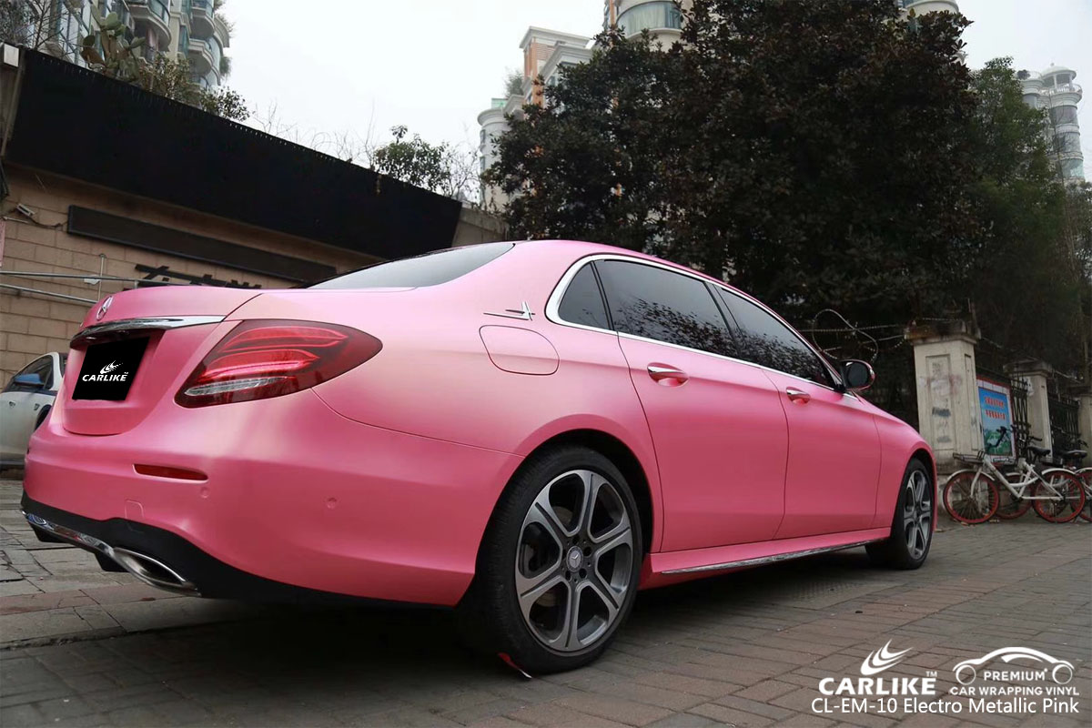 CARLIKE CL-EM-10 electro metallic pink vinyl for MERCEDES-BENZ