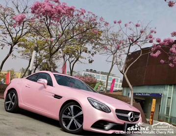 CARLIKE CL-EM-33 electro metallic cherry pink vinyl for MERCEDES-BENZ
