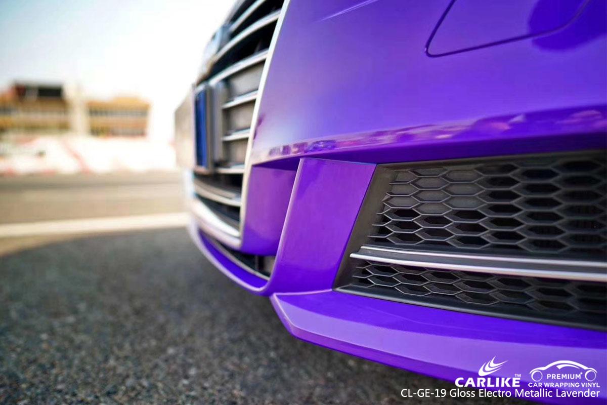 CARLIKE CL-GE-19 gloss electro metallic lavender vinyl for audi