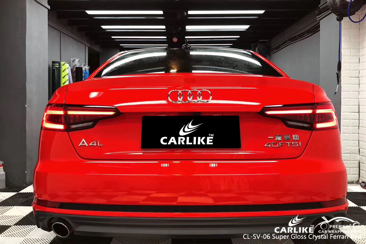 CARLIKE Super Matte Satin Vinyl Car Sticker For Car Trunk Wrapping