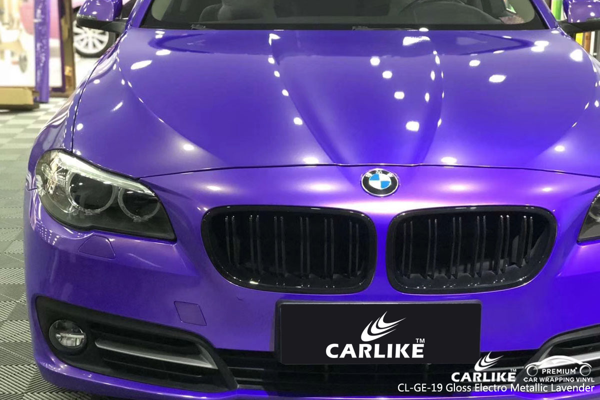 CARLIKE CL-GE-19 gloss electro metallic lavender vinyl for BMW