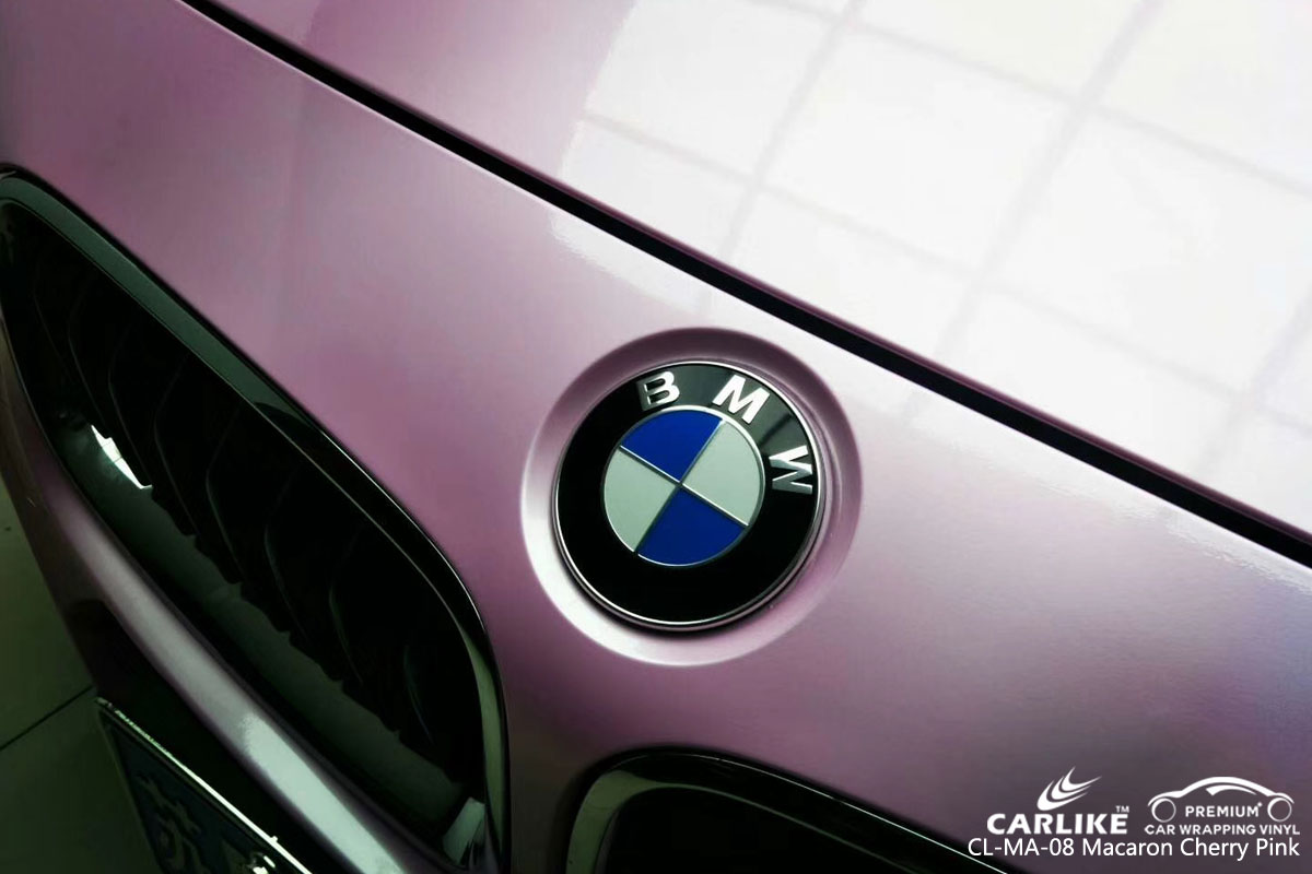 CARLIKE CL-MA-08 macaron chrry pink vinyl for BMW