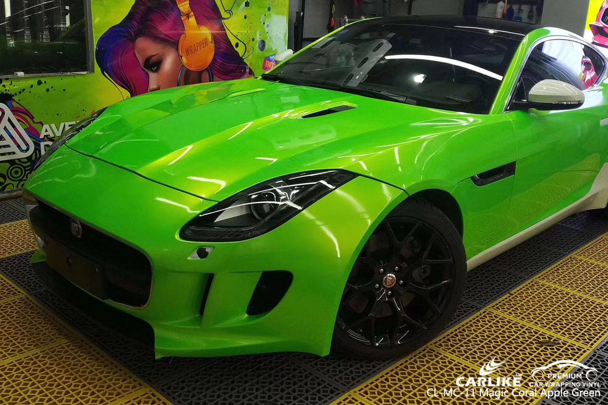 CARLIKE CL-MC-11 magic coral apple green car wrap vinyl