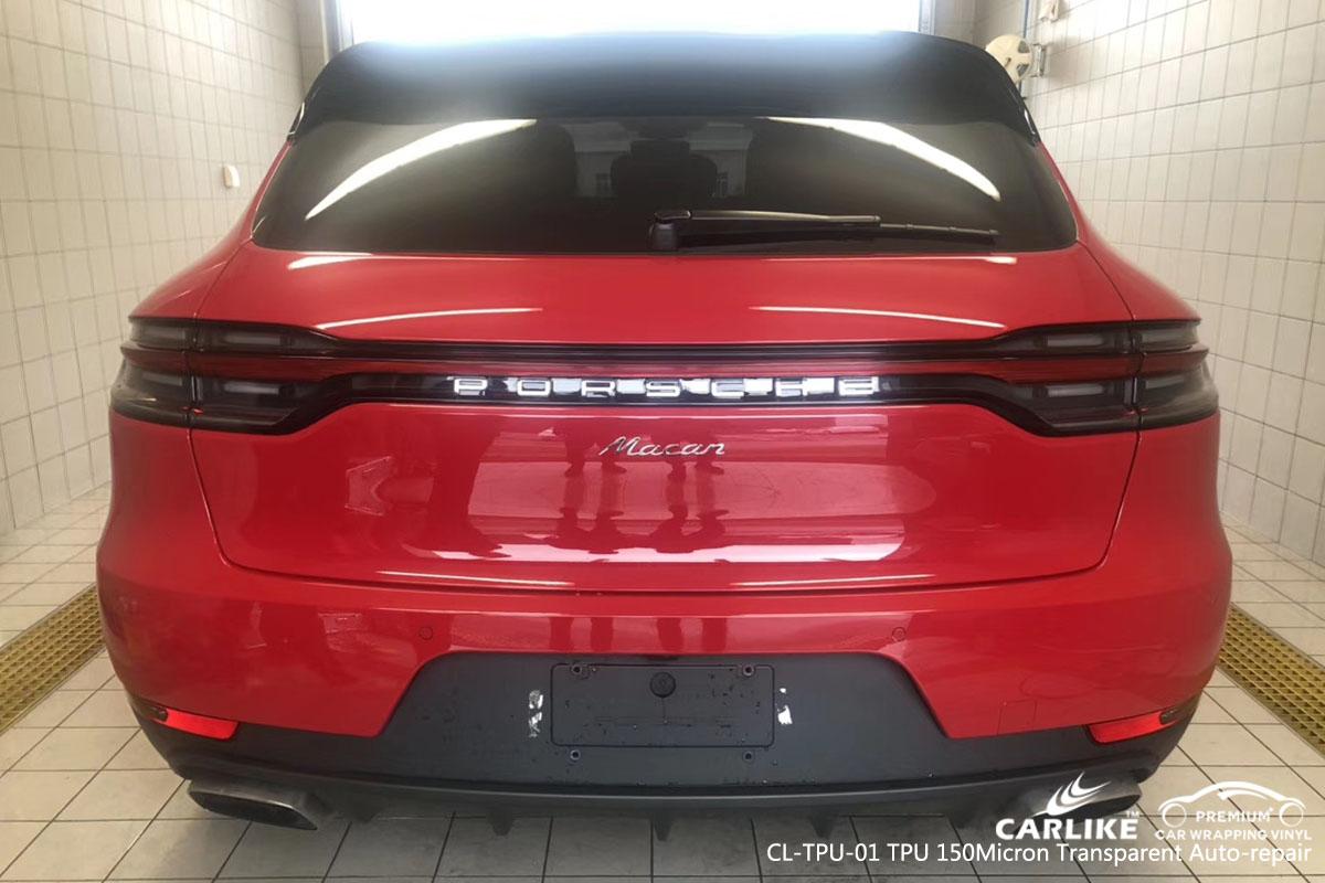 CARLIKE CL-TPU-01 TPU 150 micron tansparent auto-repair vinyl for PORSCHE