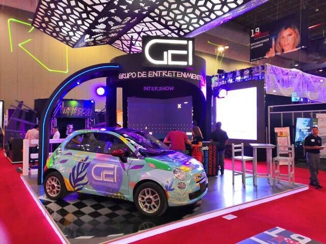 SINO GROUP ON EXPO PUBLICITAS - CAR WRAP MEXICO