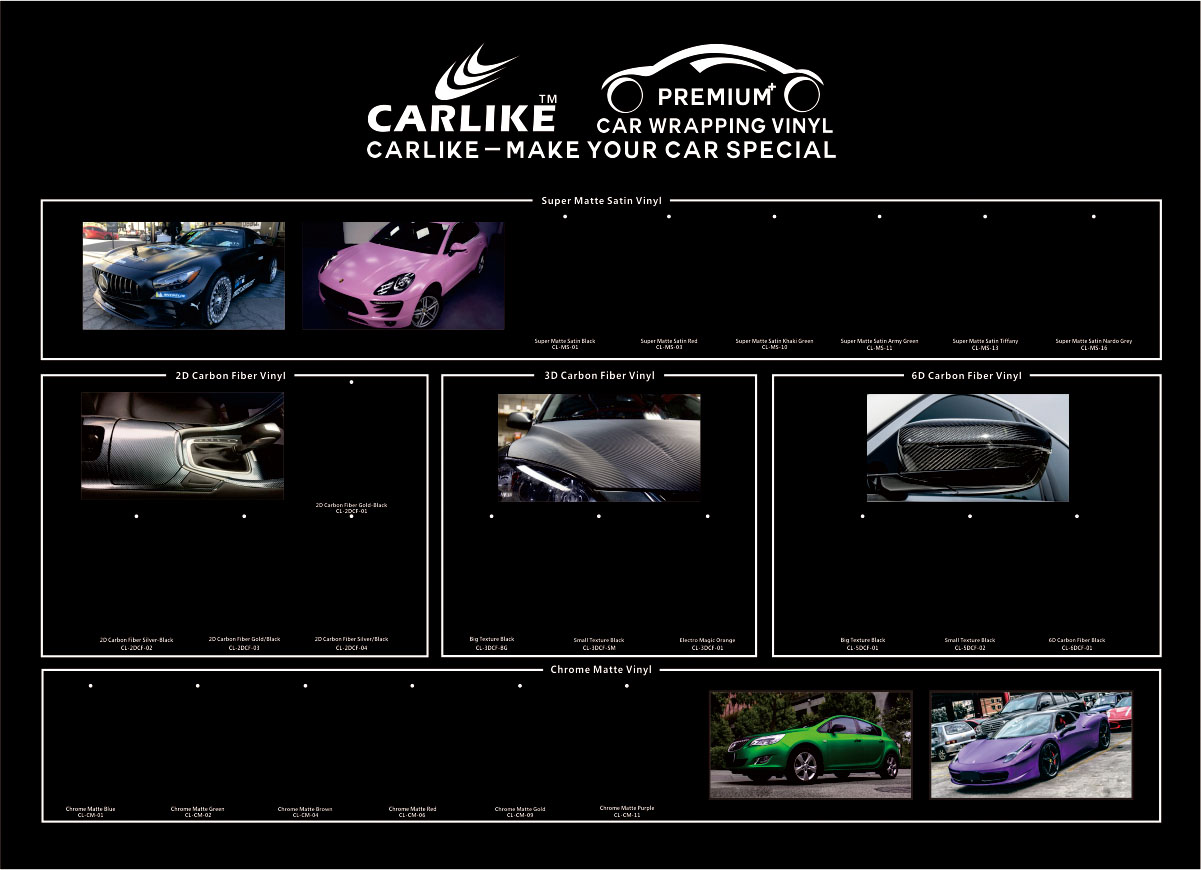 CARLIKE Newest Brand Promotion Graphics, Car Wrap Vinyl Graphics