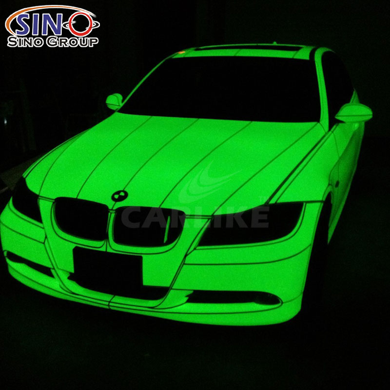 CARLIKE CL-PL Photoluminescent Glow In The Dark Car Wrap Vinyl Sticker