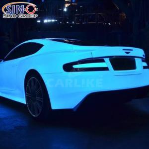 CARLIKE CL-PL Фотолюминесцентная светящаяся автомобильная виниловая наклейка