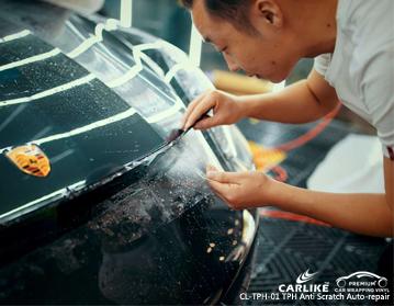 TPU PPF repara automáticamente la película de protección de pintura de automóviles en Ferrari, envoltura de automóviles España