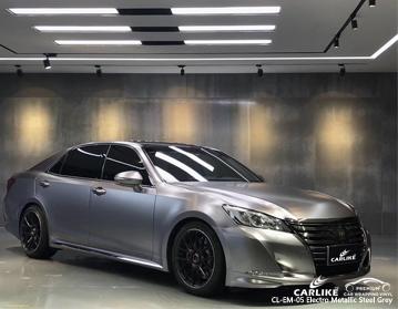 CARLIKE CL-EM-05 vinil cinzento de aço eletro metálico do envoltório do carro para Toyota