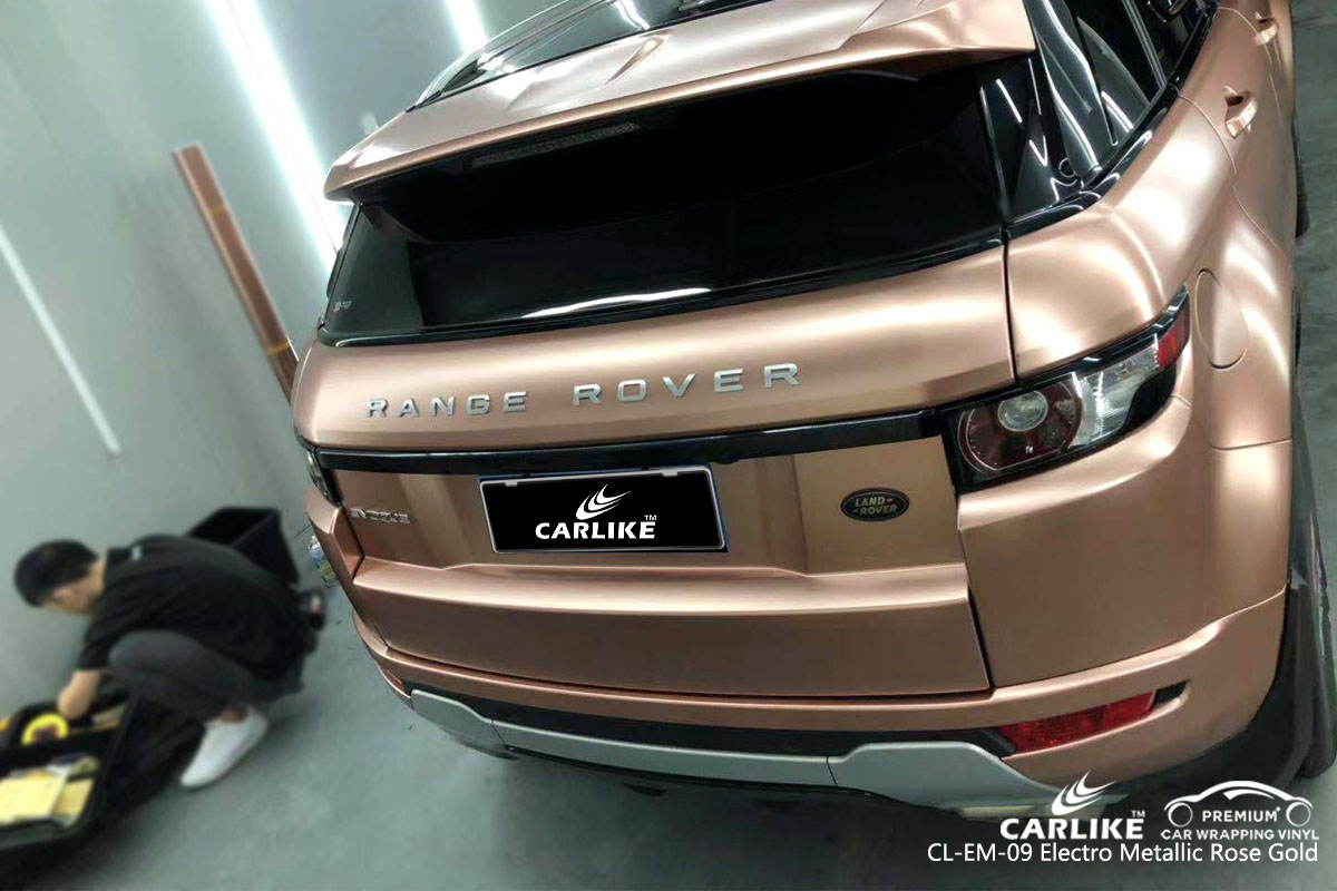 Carlike Cl Em 09 Electro Metallic Rose Gold Car Wrap Vinyl
