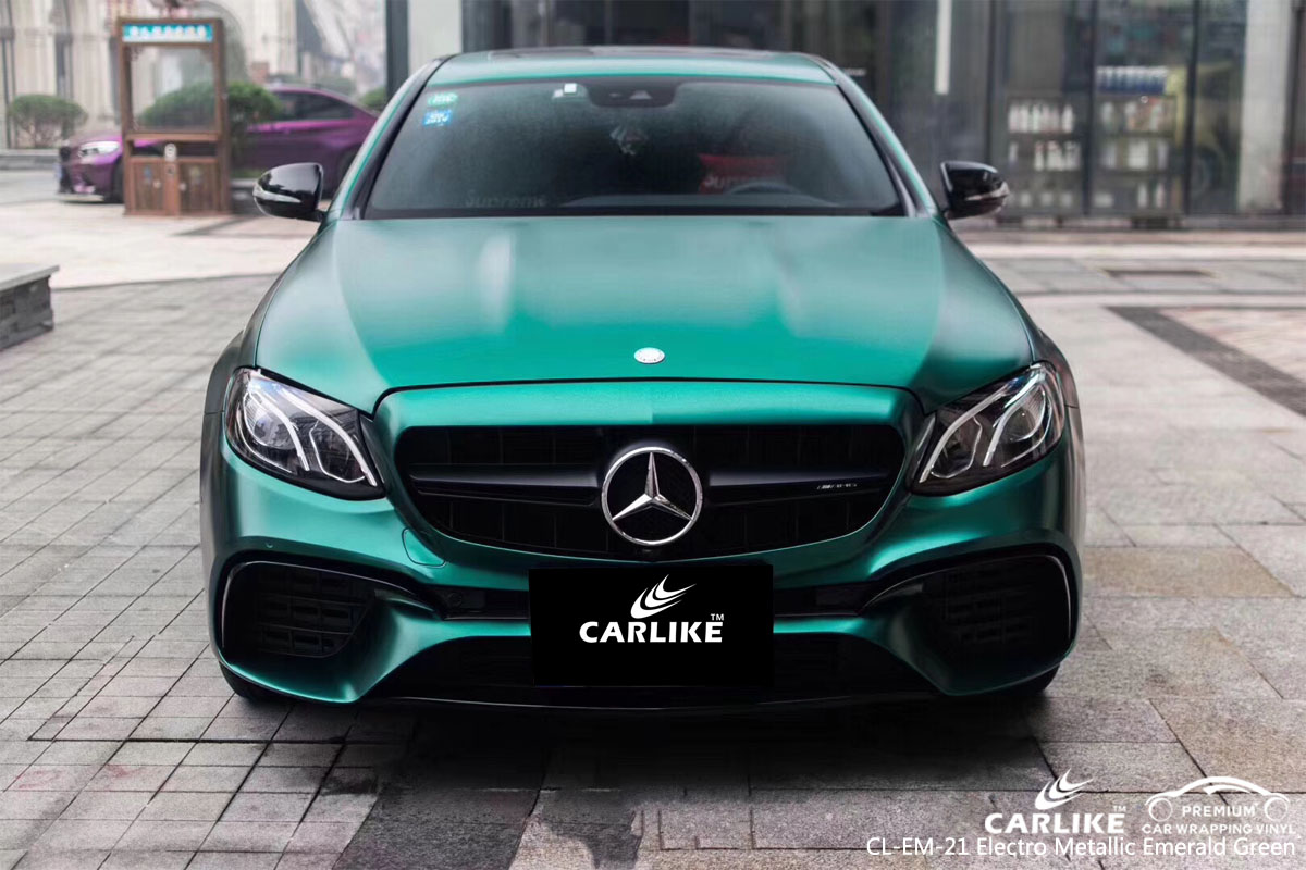 Cl Em 21 Electro Metallic Emerald Green Car Wrap Vinyl For