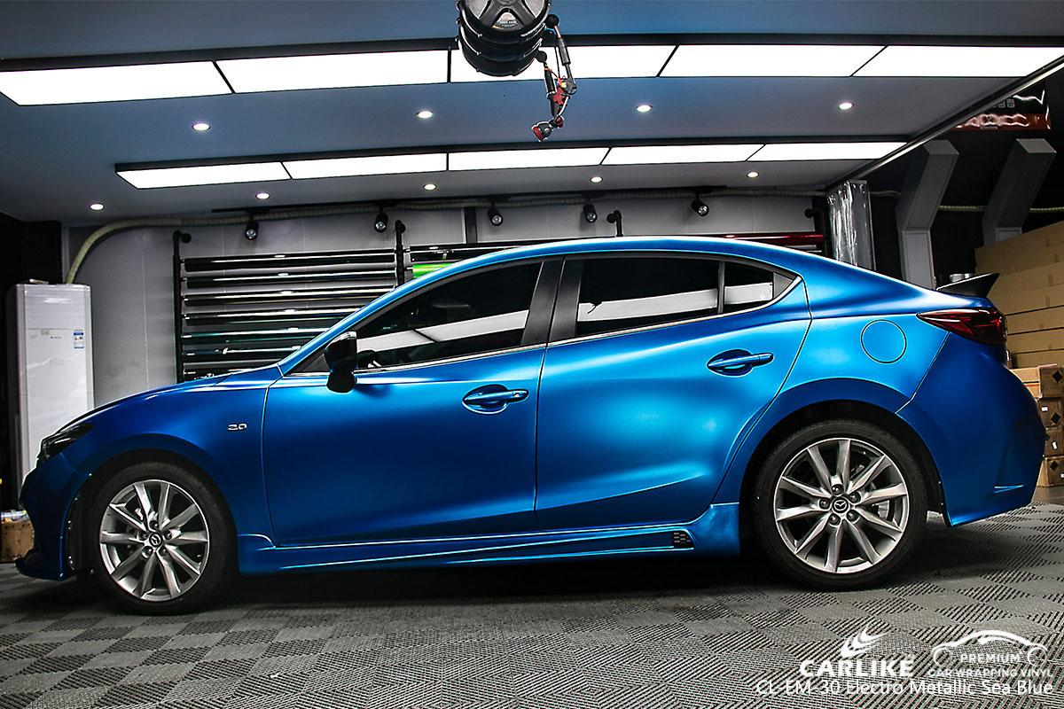 Carlike Cl Em 30 Electro Metallic Sea Blue Car Wrap Vinyl