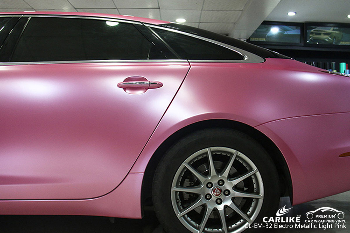 Carlike Cl Em 32 Electro Metallic Light Pink Car Wrap