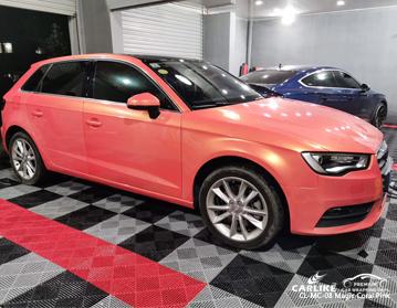 CARLIKE CL-MC-08 vinile magico rosa corallo per auto per Audi