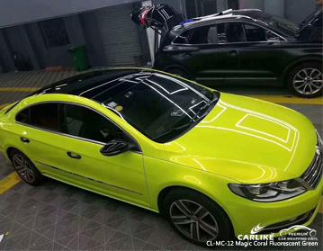 CARLIKE CL-MC-12 vinile magico verde fluorescente avvolgente in vinile per Volkswagen