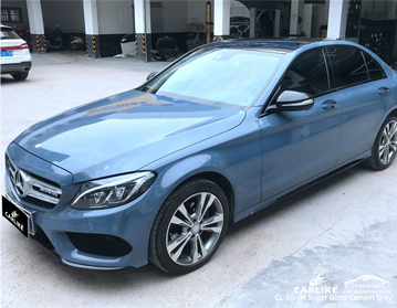 CARLIKE CL-SG-04 супер глянцевая цементно-серая автомобильная пленка для Mercedes-Benz