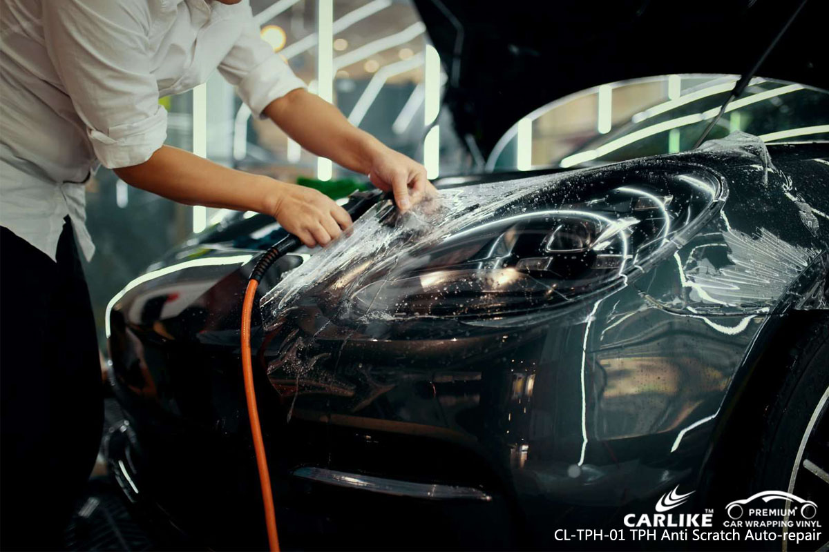 CARLIKE CL-TPH-01 TPH anti scratch auto-repair car wrapping vinyl for Porsche
