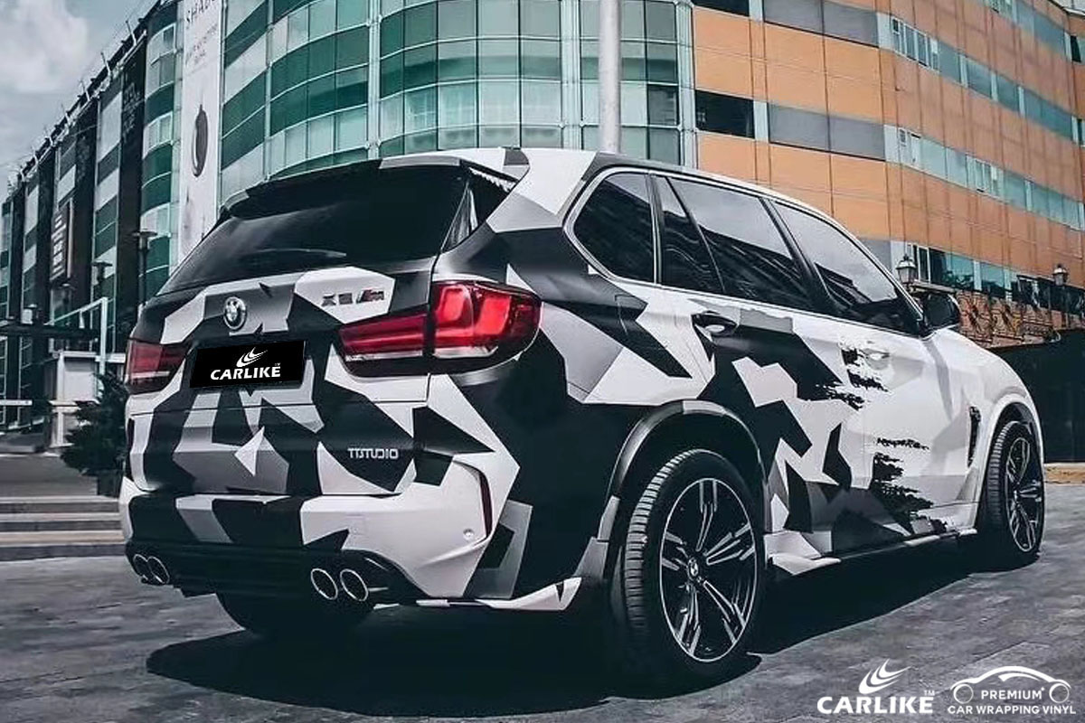 CARLIKE CL-BS-02 printed bomb sticker car wrap vinyl for BMW