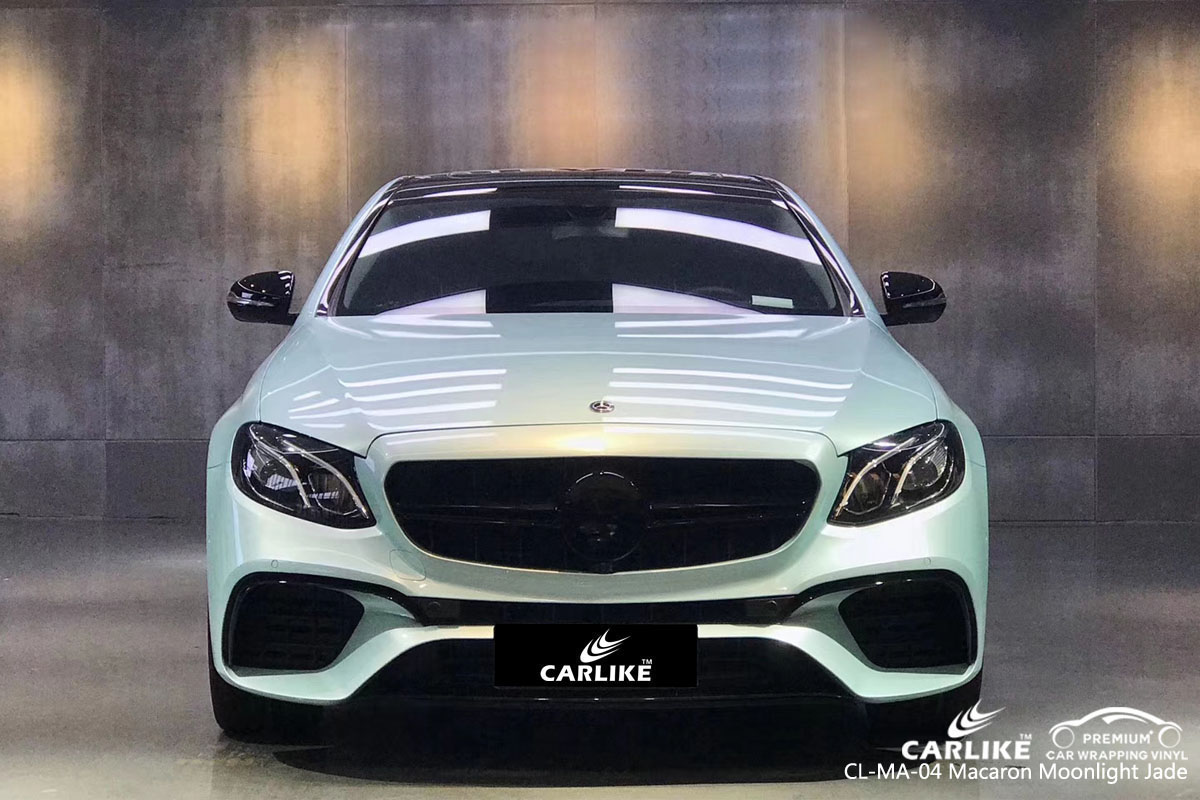 CARLIKE CL-MA-04 macaron moonlight jade car wrap vinyl for Mercedes-Benz