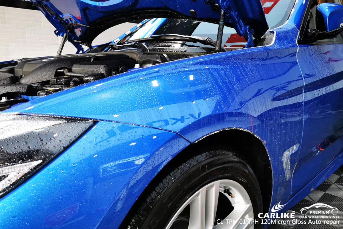 CARLIKE CL-TPH-01 TPH 120 micron gloss auto repair car wrap vinyl for BMW