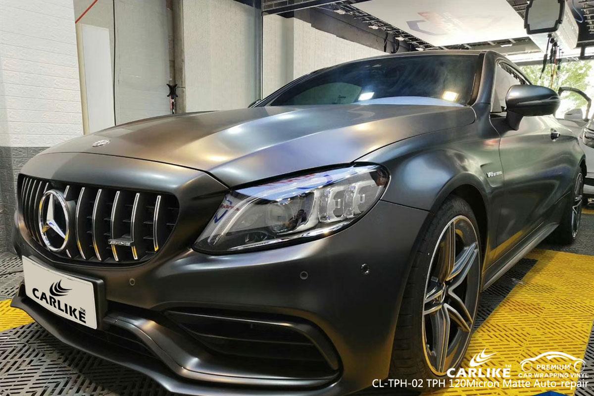 CARLIKE CL-TPH-02 TPH 120 micron matte auto repair car wrap vinyl for Mercedes-Benz